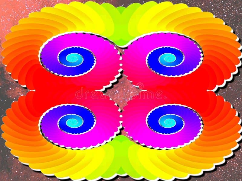 Escapist vector illustratie