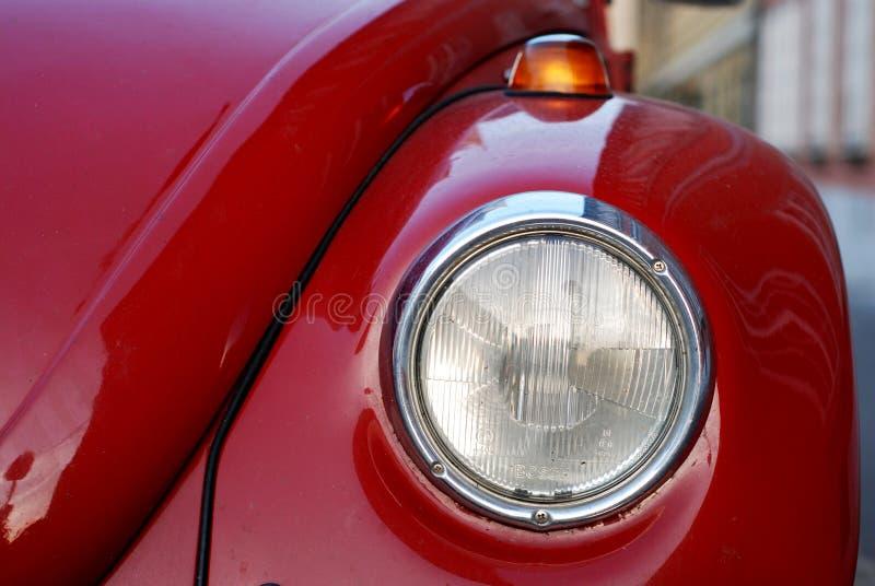 Escarabajo de VW Volkswagen viejo imagen de archivo