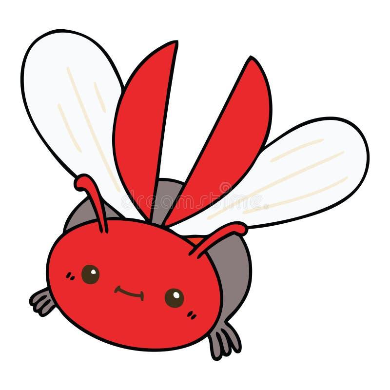 escarabajo dibujado a mano libre illustration