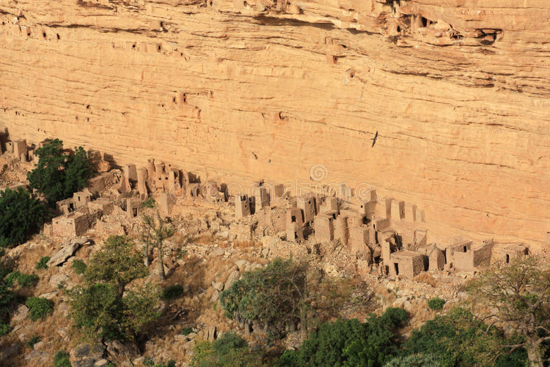 Escarpa de Bandiagara imágenes de archivo libres de regalías