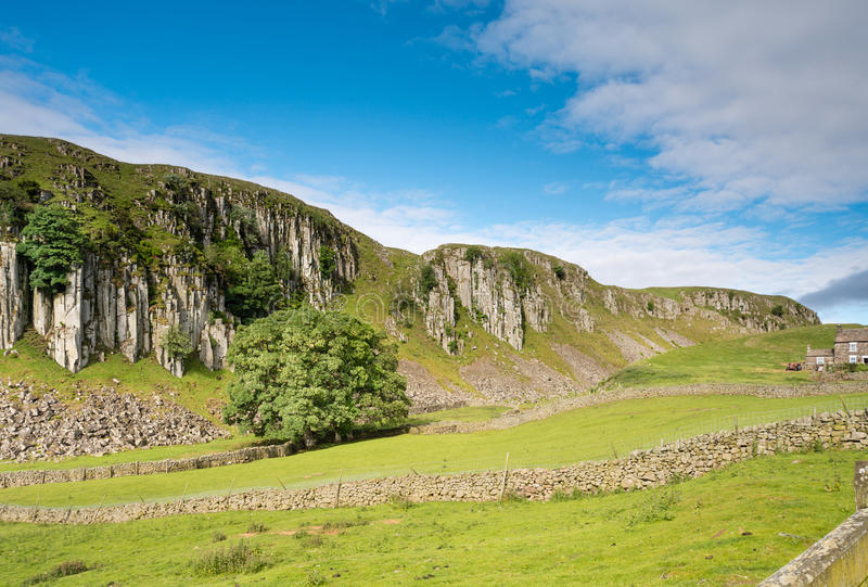 Escarpment Holwick blizna obrazy royalty free