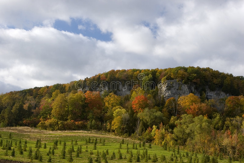 escarpment Niagara obraz royalty free