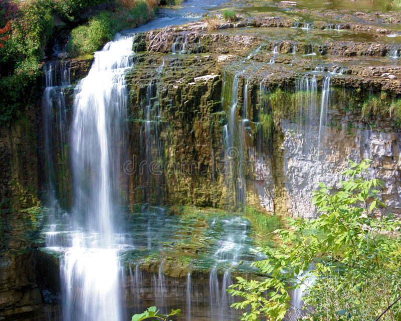 escarpment spadać Niagara s Webster fotografia royalty free