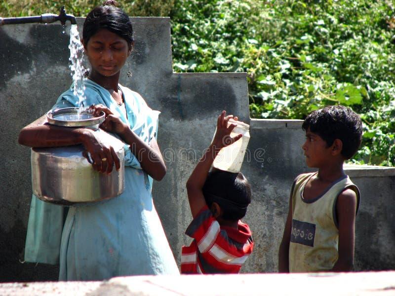Escasez del agua fotos de archivo