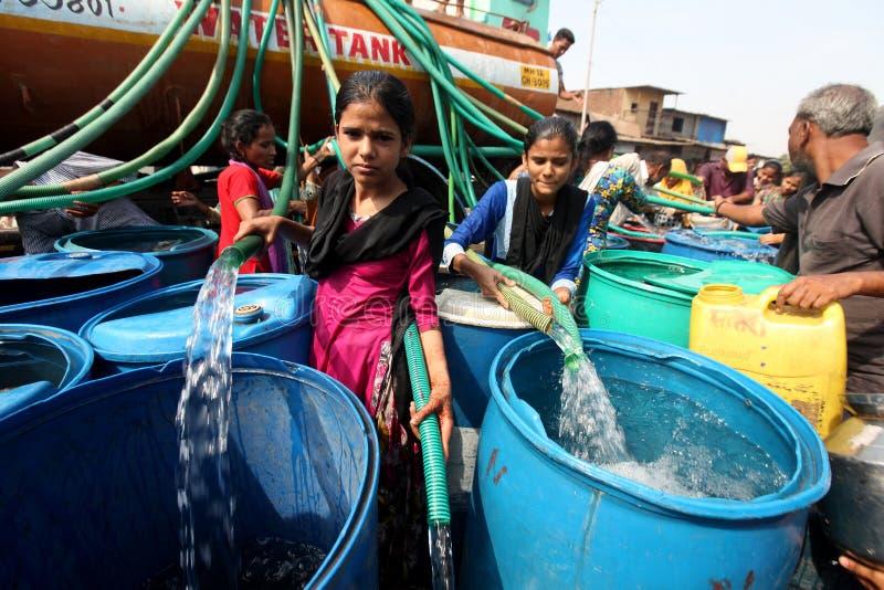 Escasez del agua foto de archivo