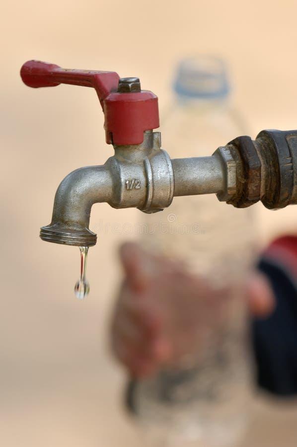 Escassez de água imagem de stock