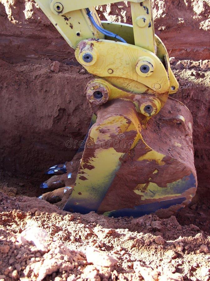 Escavação fotos de stock