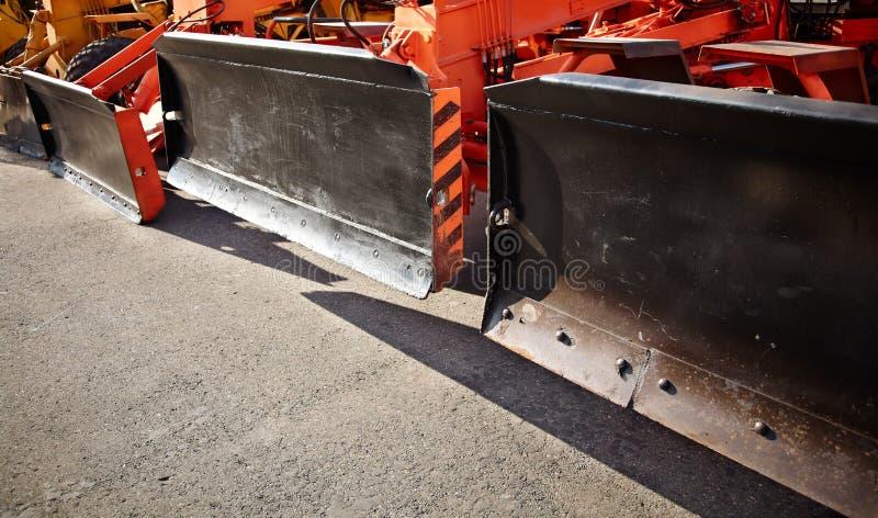 Escavadoras foto de stock