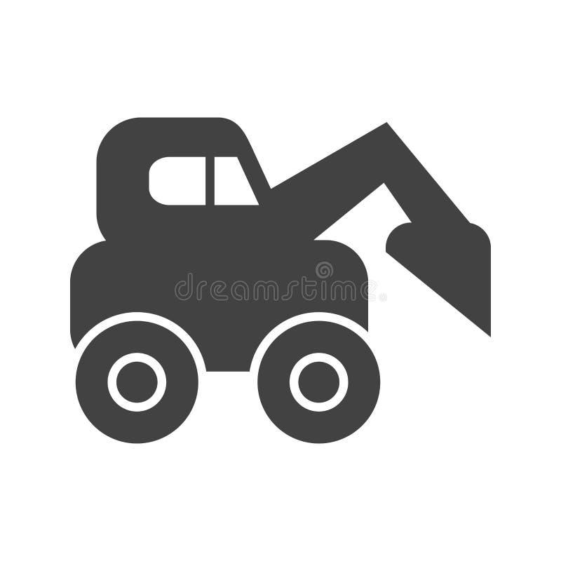 Escavator 向量例证