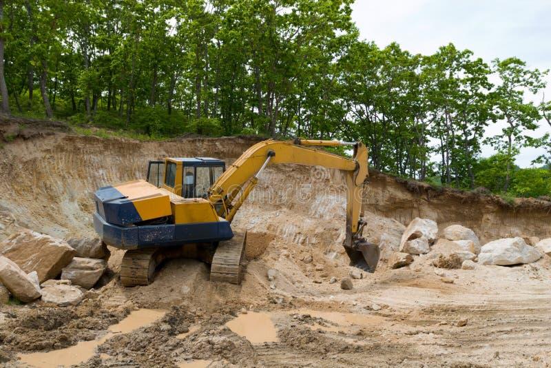 Escavatore. fotografia stock libera da diritti