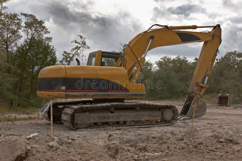 Escavatore fotografia stock