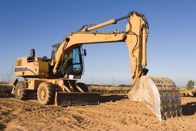 Escavatore fotografia stock libera da diritti