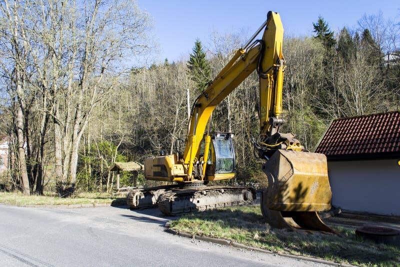 Escavatore del JCB JS200 LC fotografia stock libera da diritti