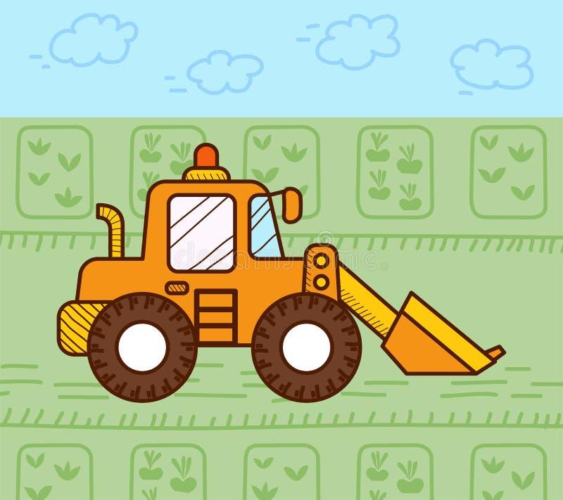Escavatore Works royalty illustrazione gratis