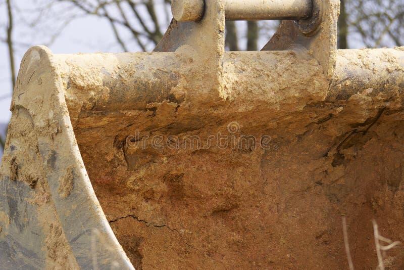 Escavatori di Whelled fotografia stock