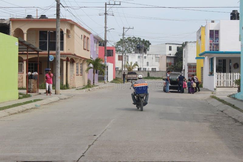 Escena callejera mexicana fotos de archivo