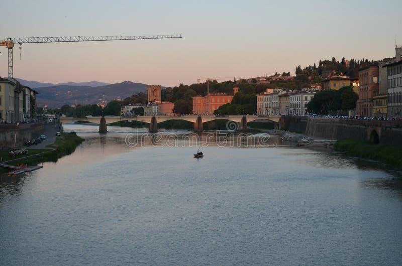 Escena de Florencia fotografía de archivo