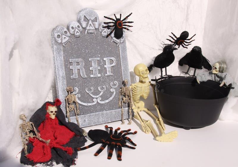 Escena de Hallowen foto de archivo
