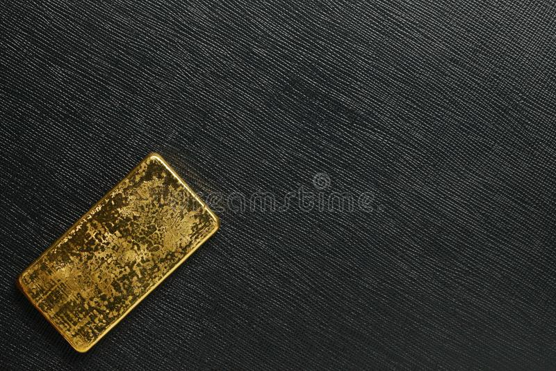 Escena de la barra de oro imágenes de archivo libres de regalías