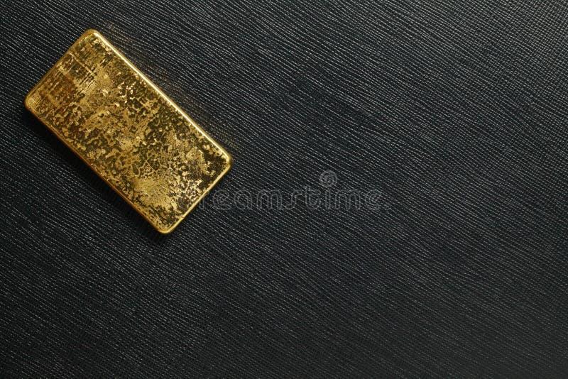 Escena de la barra de oro fotografía de archivo