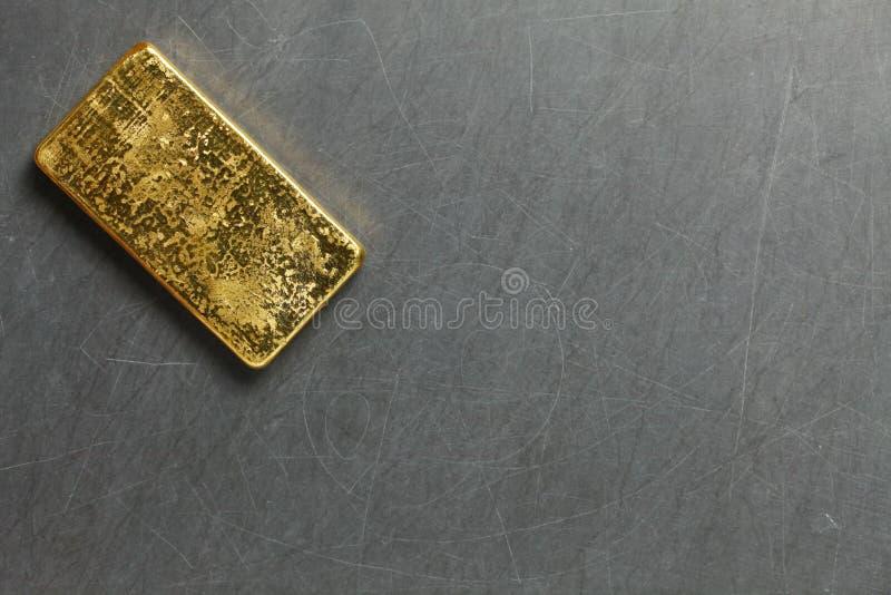 Escena de la barra de oro foto de archivo libre de regalías