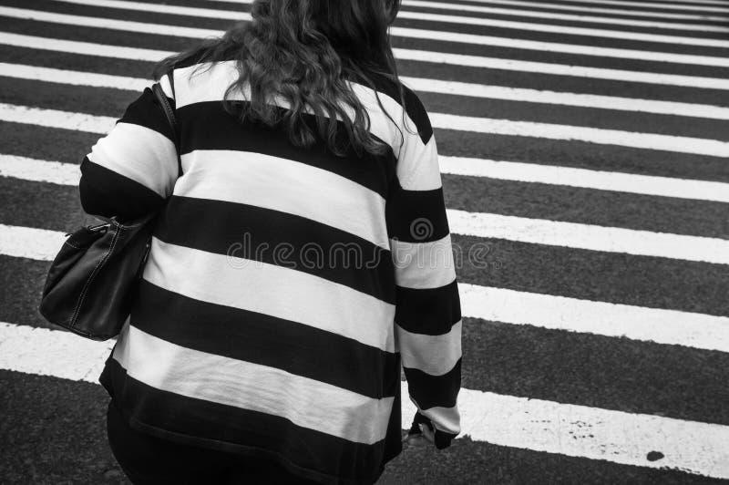 Escena de la calle de Manhattan fotografía de archivo libre de regalías