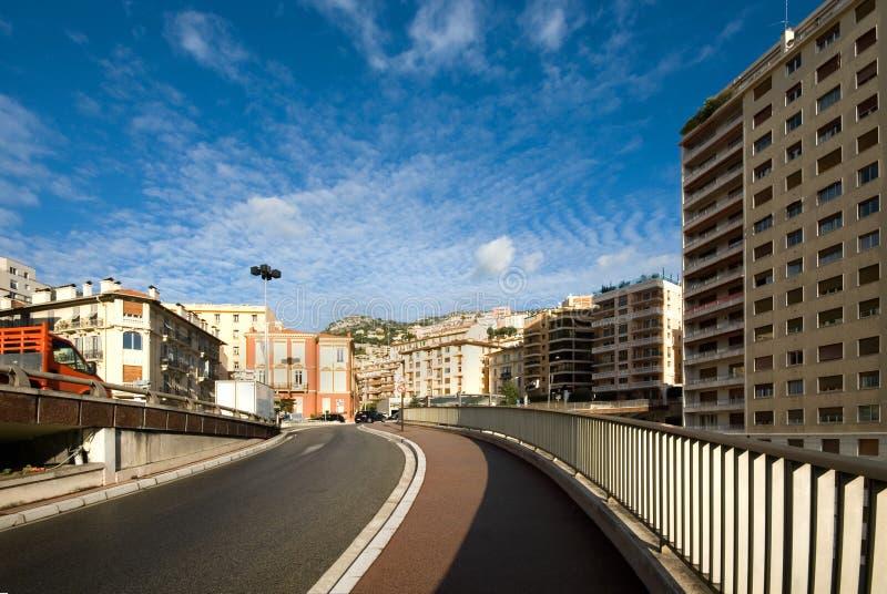 Escena de la ciudad, Monte Carlo, Mónaco fotografía de archivo libre de regalías