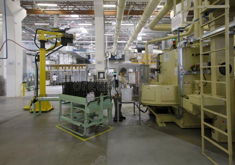 Escena de la fábrica foto de archivo