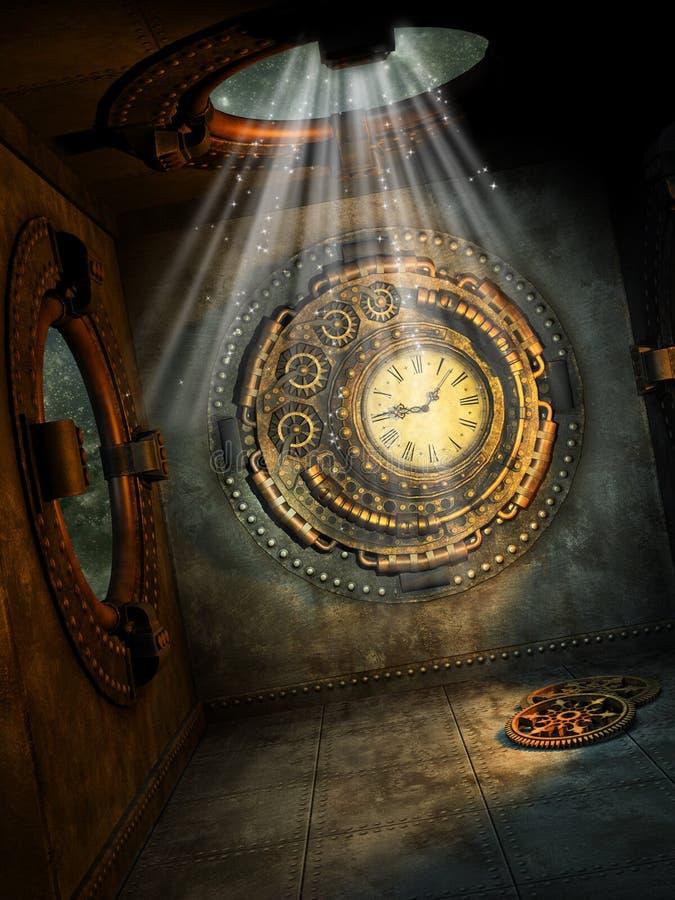 Escena de la fantasía libre illustration