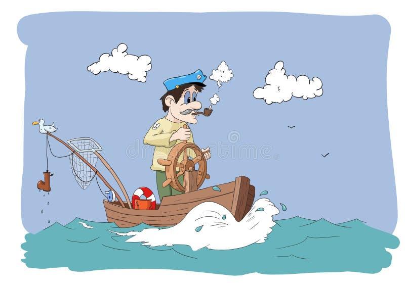 Ningunos pescados hoy stock de ilustración