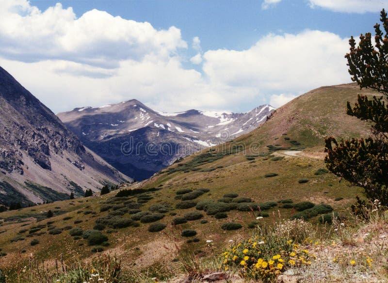 Escena de la montaña foto de archivo libre de regalías