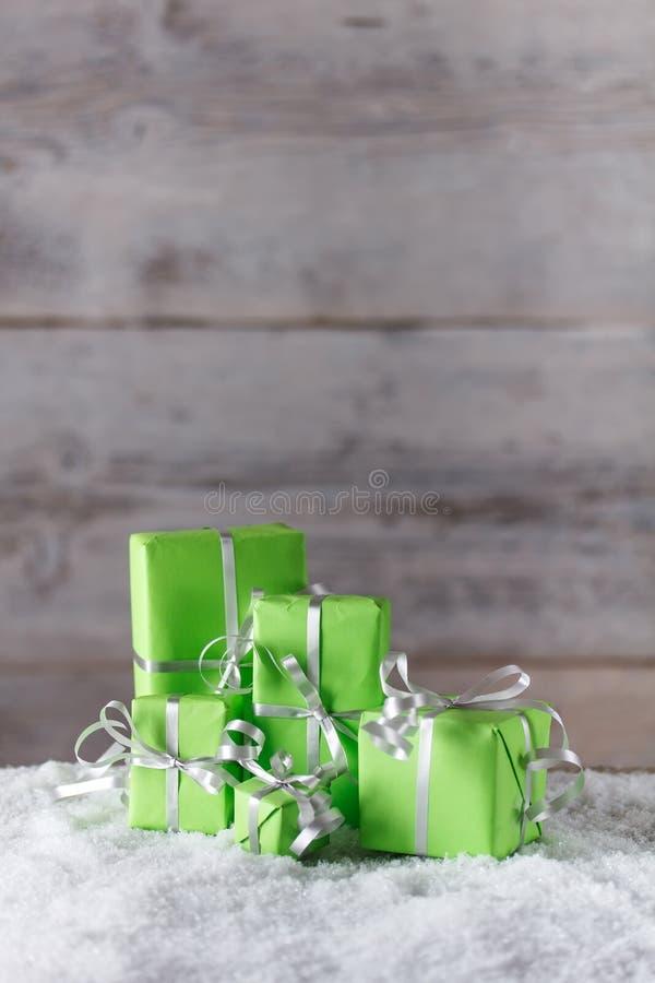 Escena de la Navidad fotos de archivo libres de regalías