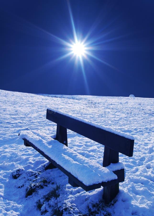 Escena de la nieve