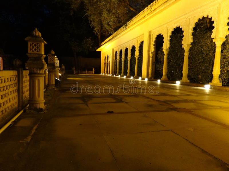 Escena de la noche fotografía de archivo