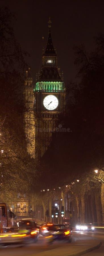 Escena de la noche de Ben grande foto de archivo libre de regalías