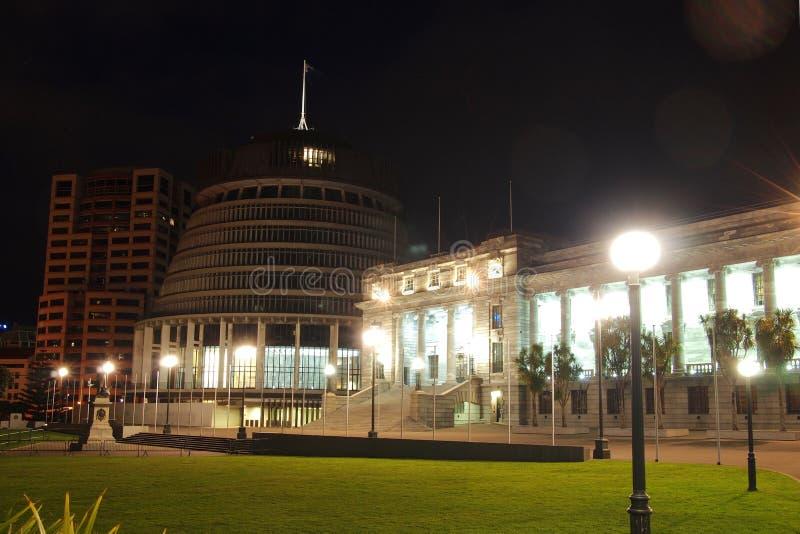 Escena de la noche de la colmena imagen de archivo