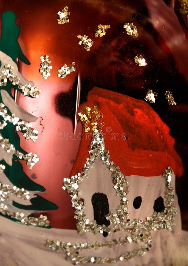 Escena de la noche de la Navidad foto de archivo