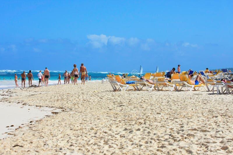Escena de la playa foto de archivo libre de regalías
