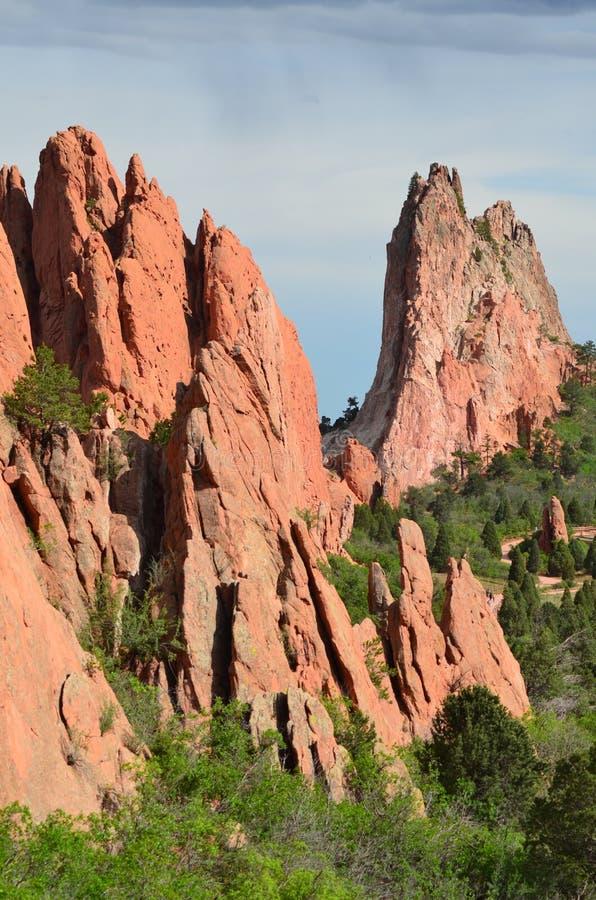 Escena de la roca imágenes de archivo libres de regalías