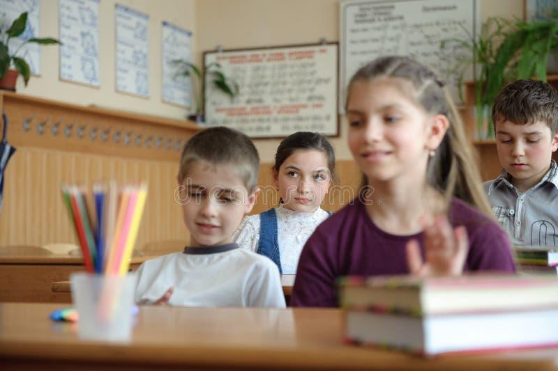 Escena de la sala de clase fotografía de archivo libre de regalías