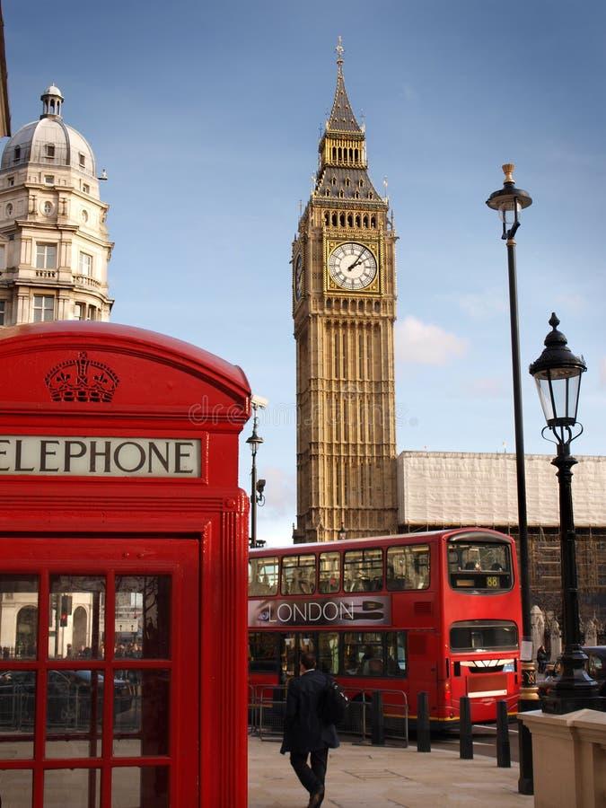 Escena de Londres fotos de archivo