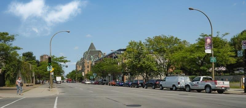 Escena de Montreal fotos de archivo