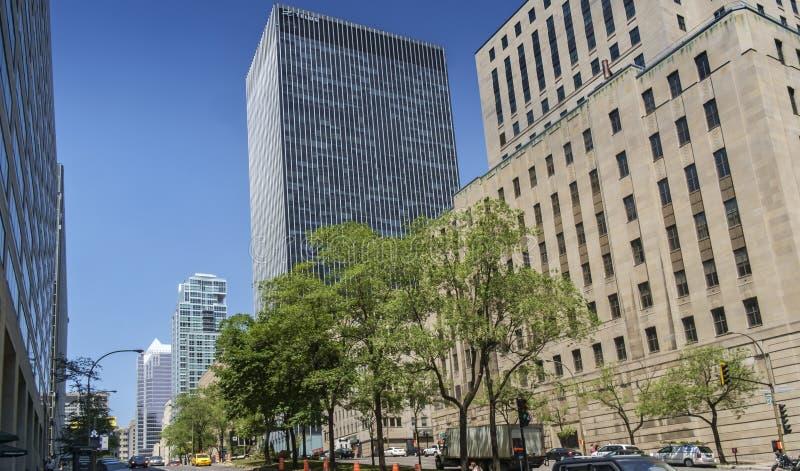 Escena de Montreal imagen de archivo libre de regalías