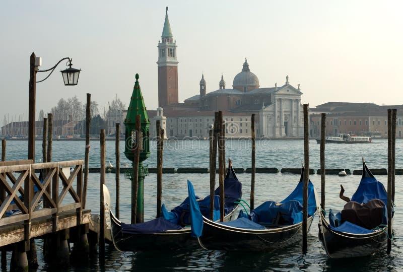 Escena del canal magnífico, Venecia, Italia imágenes de archivo libres de regalías