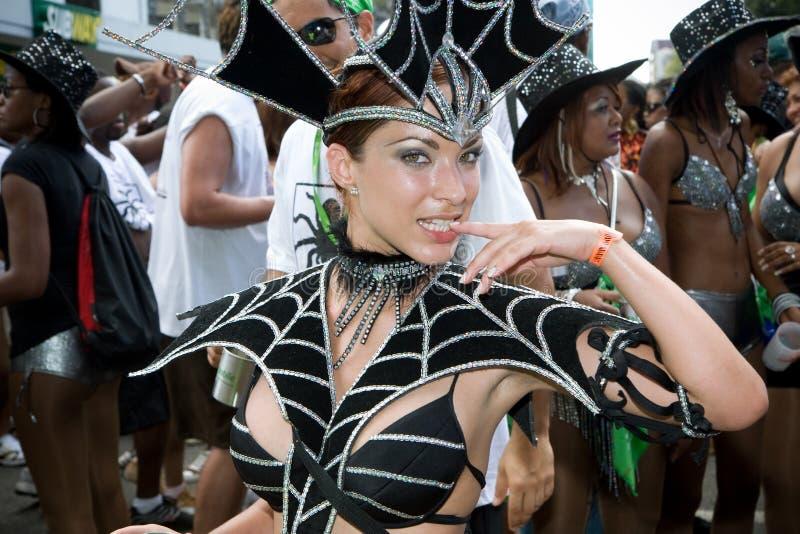 Escena del carnaval imagen de archivo