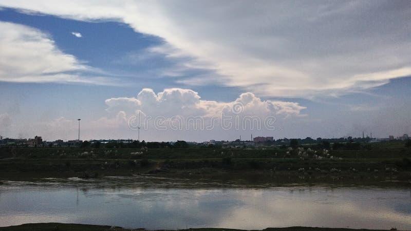 Escena del cielo fotos de archivo