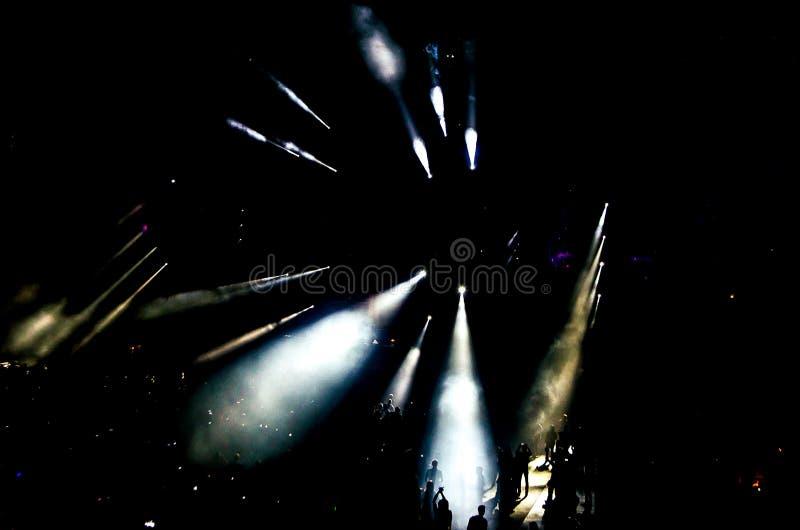 Escena del concierto fotos de archivo
