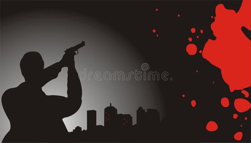 Escena del crimen libre illustration