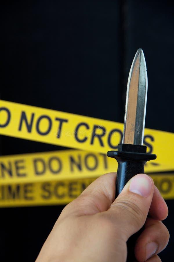 Escena del crimen fotos de archivo