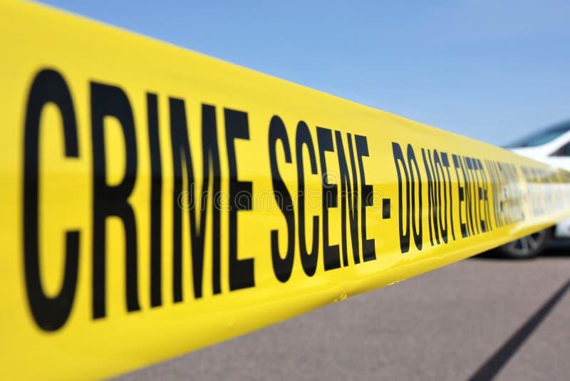 Escena del crimen 01 fotografía de archivo libre de regalías